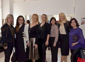 Tuba Atman, Berrak Kaçar, Ahsem Kaya ve Berrin Kapusuz'un tasarladığı birbirinden güzel takılar, Moneta Sanat Akademisi'nde düzenlenen etkinlikte sergilendi.