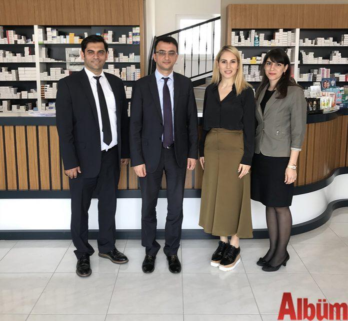 Alanya Vergi Dairesi Müdürü Fırat Altan ve Naz Fenercioğlu