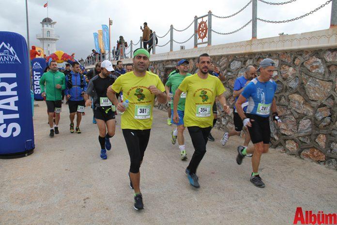 Alanya Ultra Trail yarışı yapıldı