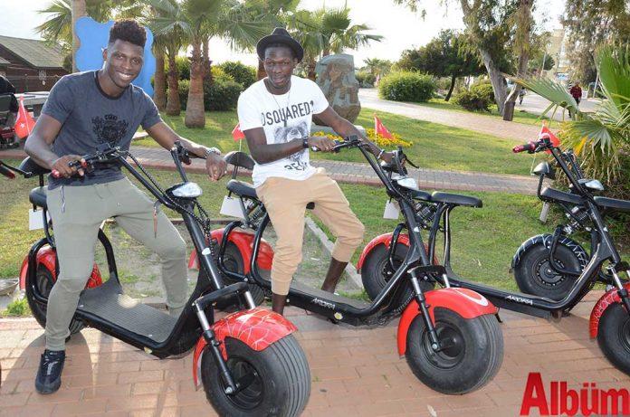 Alanya'da hizmet veren Ümit Bisiklet'in ilçeye ilk kez getirdiği Coco City S yoğun ilgi görüyor.