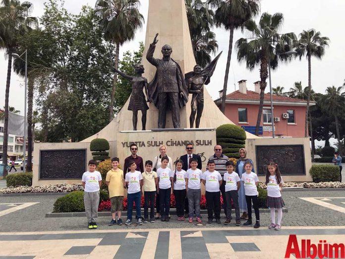 Çocuk meclisinden 23 Nisan ziyareti