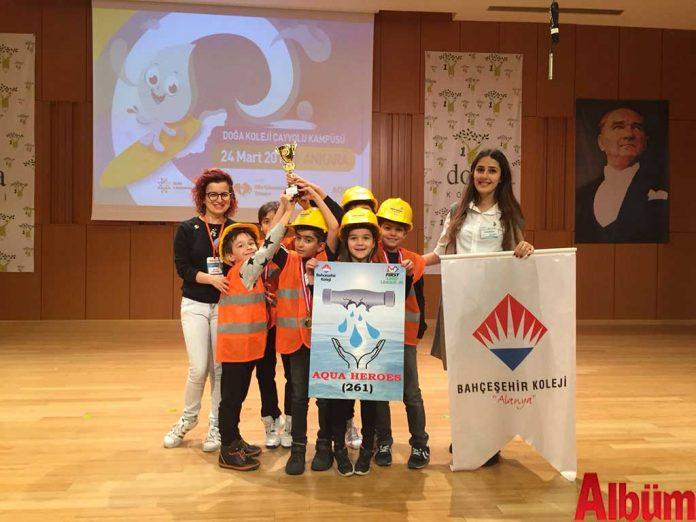 Bahçeşehir Koleji Alanya Bilim kahramanları ödül aldı