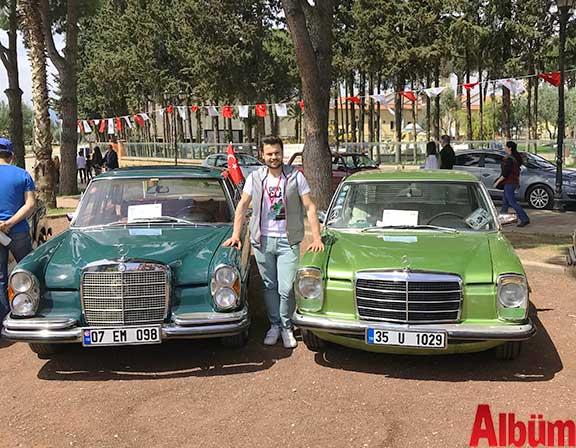 Klasik Mercedes tutkunları Antalya'daydı
