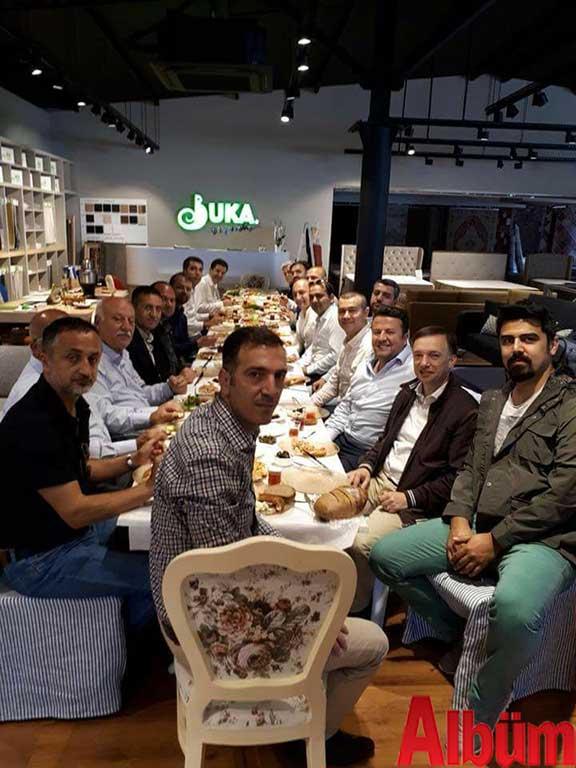 Sabaş Ticaret Alaiye Konsept mağazasındaki kahvaltıda buluştular