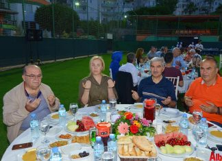 Aytemiz Alanyaspor Kulübü tarafından iftar programı gerçekleştirildi.