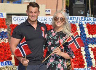 Çok sayıda Norveçlinin yaşadığı Alanya'da 'Norveç Milli Günü' Büyükelçi Vegard Ellefsen ve davetlilerin katılımıyla kutlandı.