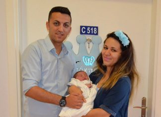 Alanya İlçe Emniyet Müdürlüğü Asayiş Büro Amirliği'nde komiser olan Umut Karabil ve ev hanımı eşi Elif Nur Karabil ilk çocuk heyacanını yaşadılar.