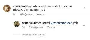 Sagopa Kajmer mahlaslı rapçi Yunus Özyavuz, bir Instagram paylaşımının altında sorulan soruları yanıtladı. Ünlü sanatçı, 'Dini inancın ne?' sorunu 'yok' şeklinde cevapladı