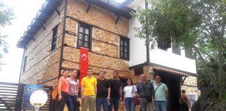 Azeri Gazeteciler Alanya'daydı