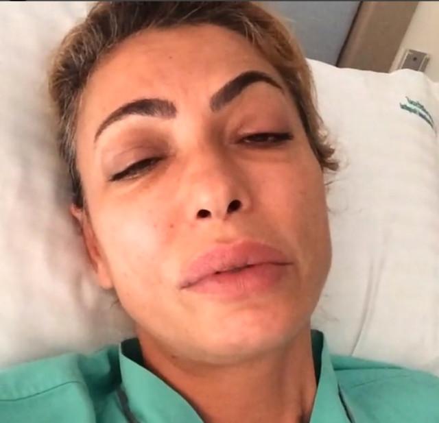 Ünlü oyuncuyu sivrisinek hastanelik etti