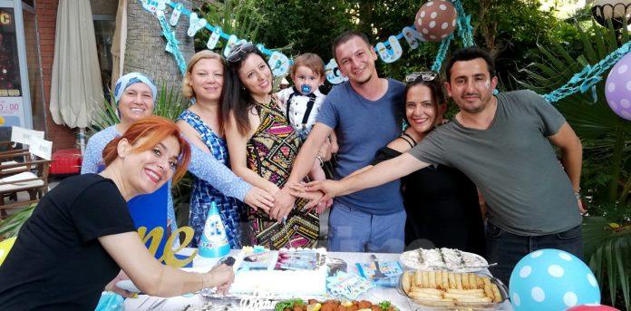 İlk yaşa özel kutlama