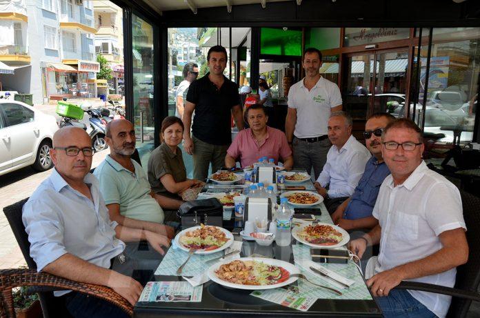 AGC yönetimi My Bodrum Döner'i ziyaret etti