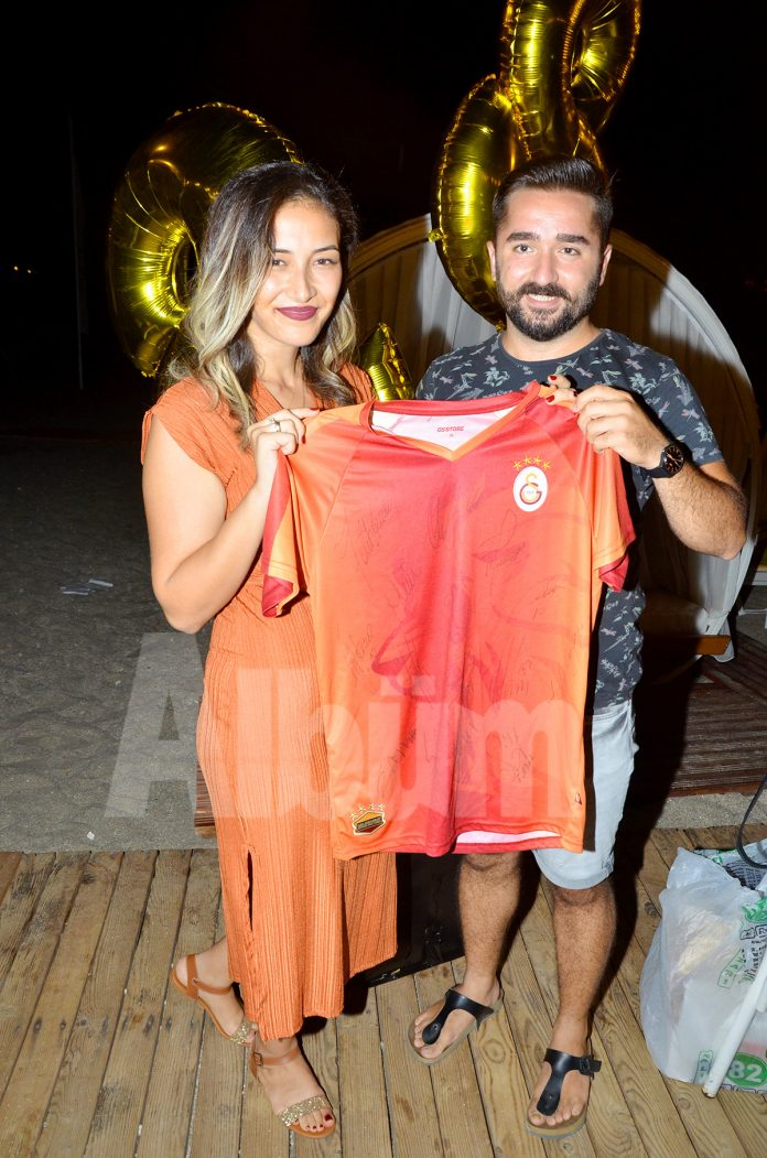 Galatasaray aşığına özel kutlama