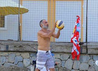 Gürkan Uygun'un voleybol keyfi