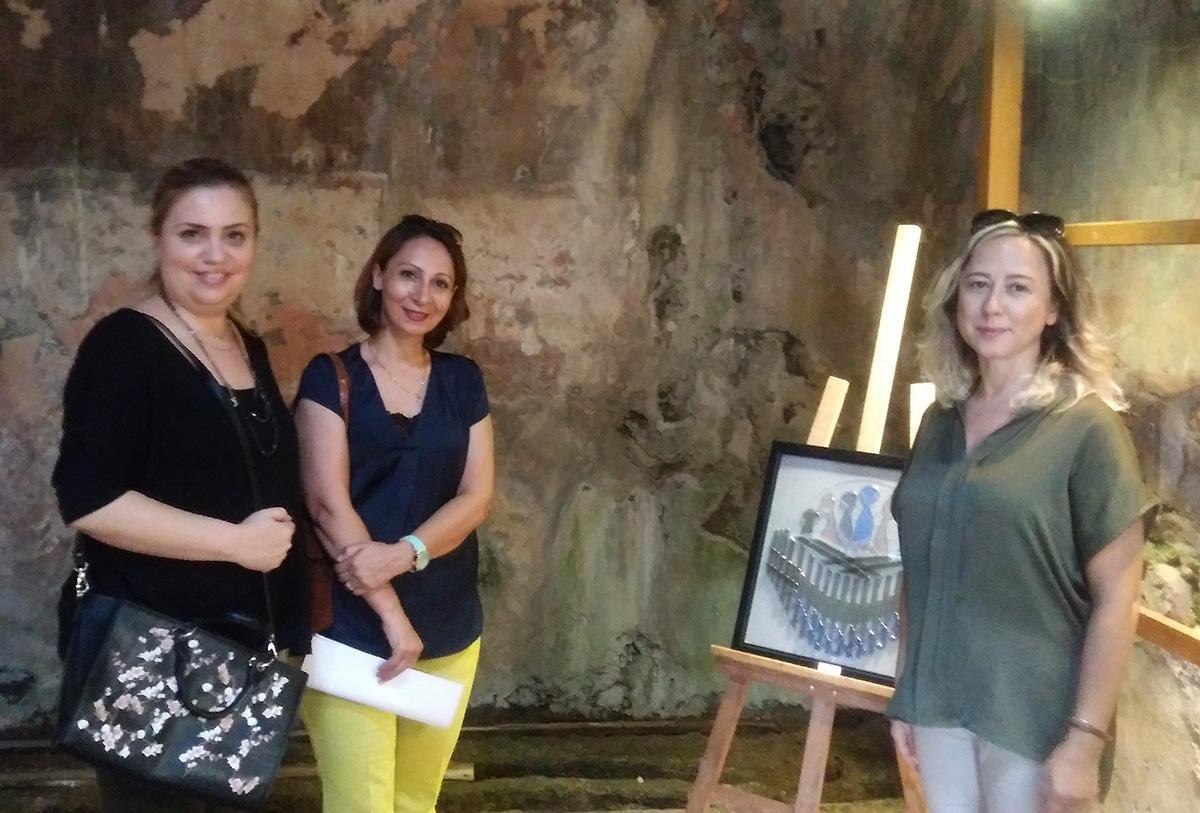 Can'dan ve Cam'dan Yansımalar sergisi açıldı