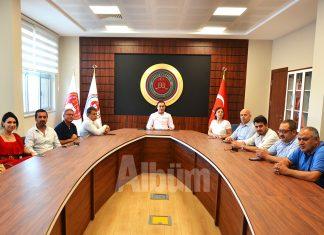 Başsavcı Yasin Emre, Alanya basınını ağırladı