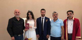 Gülşah ve Mehmet evlendi