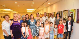 Türk Kadınlar Birliği üyeleri sergi açtı