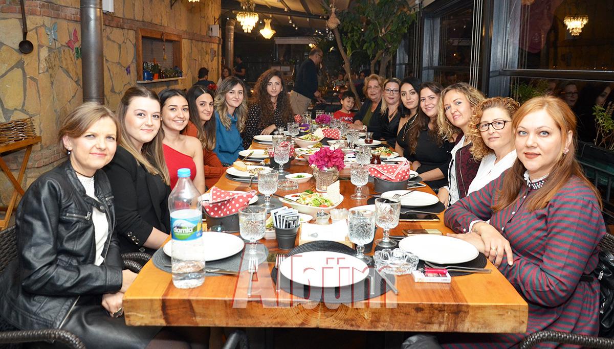 Öğretmenler Günü'nü yemekle kutladılar