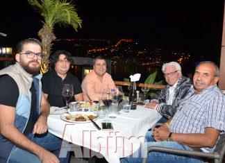Alanya Belediyesi İmar Müdürü Murat Satı, konuklarını nezih bir akşamda ağırladı.