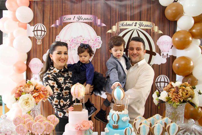 Coffee Conpanna ALTSO Meclis Üyesi Uğur Ali Ünlü ve Avukat Ecem Ünlü'nün çocukları Mehmet ve Esen için gerçekleşen özel doğum günü kutlamasına ev sahipliği yaptı.