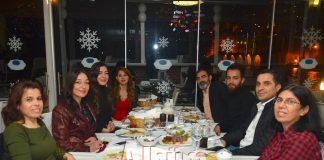 Günizi ailesi yeni yılı kutladı