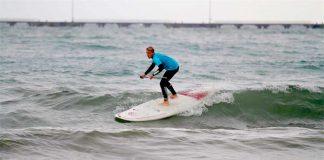 Sörf Şampiyonası yapıldı