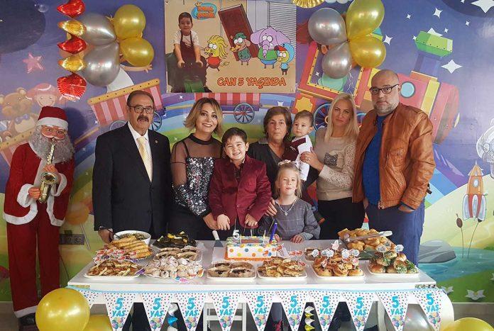 Mehmetcan yeni yaşını kutladı