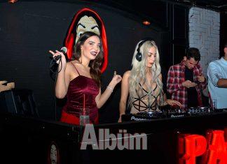 Paylaştıkları her video büyük bir izleyici kitlesine ulaşan Damla Ekmekçioğlu ve Merve Sanay, Papel Club'de düzenlenen partide mikser başına geçti.