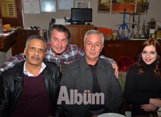 Çavuşoğlu'ndan dostlarına yılbaşı yemeği