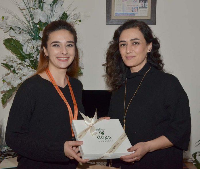 Doğa Koleji '10 Ocak Çalışan Gazeteciler Günü'nde Tersane Medya'yı unutmadı.