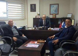 Alanya'da ki turizmciler Alanya Gençlik Merkezi Müdürü olarak atanan Emre Kıldırgıcı'ya 'Hayırlı olsun' ziyaretinde bulundu.
