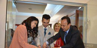 Azerbaycan Modern Karma Resim Sergisi'nin açılışı gerçekleştirildi.