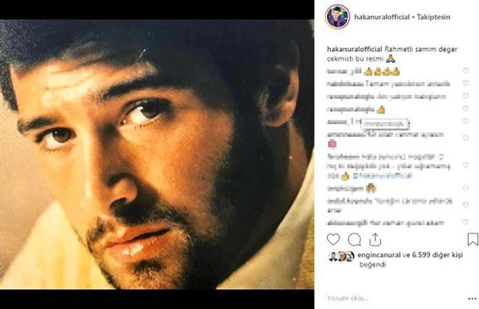Sunucu ve oyuncu Hakan Ural'ın Instagram hesabından paylaştığı gençlik fotoğrafı sosyal medyayı salladı. Yılların değiştiremediği Ural, takipçilerinden tam not aldı.