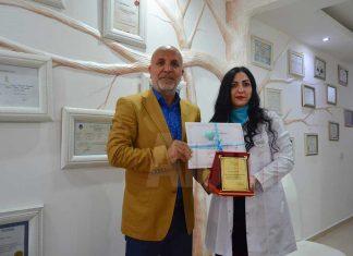 Leyna Esthetie Güzellik & Weakening Acedemy'de eğitim görenlere ödülleri düzenlenen törenle verildi.
