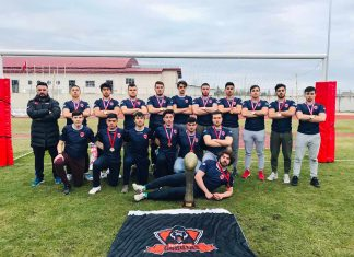 'Gorillas' lakaplı Firuzköy ragbi takımı Türkiye şampiyonu oldu. 6 oyuncusu milli takıma seçilen takım Alanya'da kamp yapacak.
