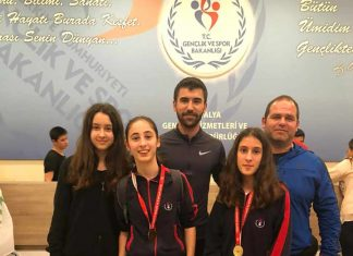 Antalya'da Okul Sporları kapsamında düzenlenen Yıldız Kızlar Eskrim Epe branşında Özel Hamdullah Emin Paşa Okulları (ÖHEP) öğrencileri bir kez daha tarih yazdı.