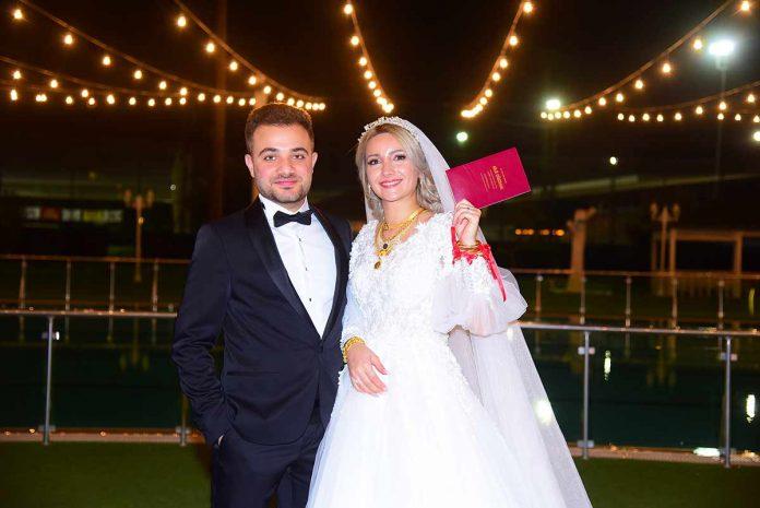 Sultan ve Enver Yılmaz çiftinin öğretmen kızları Büşra Yılmaz ile Fatıma ve Zuheir Malkawi çiftinin emlakçı oğulları Faisal Al Malkawi dünyaevine girdiler.