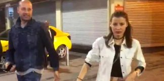 Oyunculuğun ardından DJ'liğe soyunan Müjde Uzman, dün gece bir erkek arkadaşıyla görüntülendi. Alkolü fazla kaçıran Uzman, kendisini görüntüleyen gazetecileri tehdit etti.