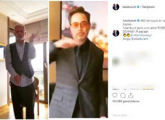Oyuncu Talat Bulut, dünyaca ünlü yıldız Robert Downey Jr. ile hemen hemen aynı dansı yapınca sosyal medyada gündem oldu. Talat Bulut'un paylaşımı kısa süre içerisinde çok sayıda beğeni aldı.