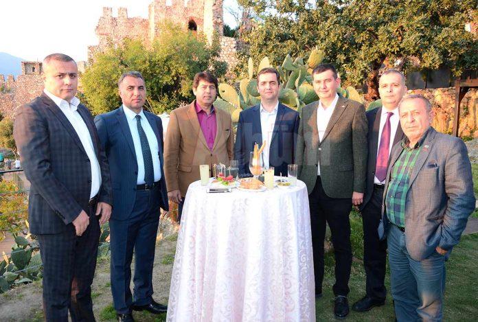 Turizm Haftası açılış kokteyli ilçe protokolü ve turizmcileri bir araya getirdi.