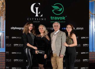 City Line ve Travok firmalarının ortak davetinde bölgede yaşayan İranlılar bir araya geldi.