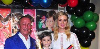 İş adamı Ali Ağaoğlu, oğlu Ali Ege'nin doğum gününü Petek Ertüre ile kutladı.