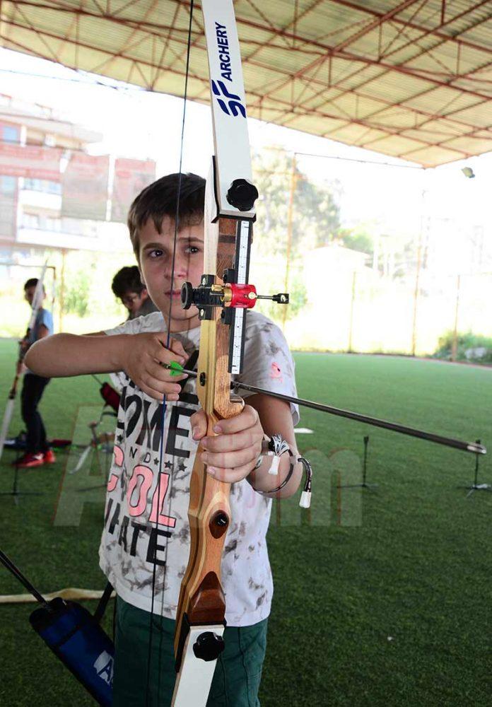 07 Alanya Okçuluk Kulübü tarafından okçuluk turnuvası düzenlendi.
