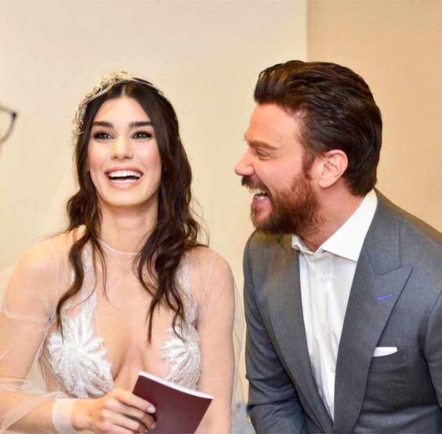 Ocak ayında Amsterdam'da evlenen Sinan Akçıl ve Burcu Kıratlı çiftinin, bayram sonrasında boşanacağı iddiası magazin gündemine bomba gibi düştü.