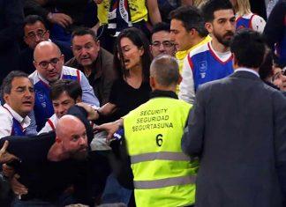 Oyuncu Yasemin Özilhan, eşi İzzet Özilhan ile gittiği Euroleague'de final maçı olan Anadolu Efes-CSKA Moskova karşılaşmasında saldırıya uğradı. Yaşanan saldırı ise bir taraftar tarafından anbean kaydedildi.